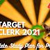 SBI क्लर्क स्टडी प्लान 2021: Complete SBI Clerk Prelims Study Material