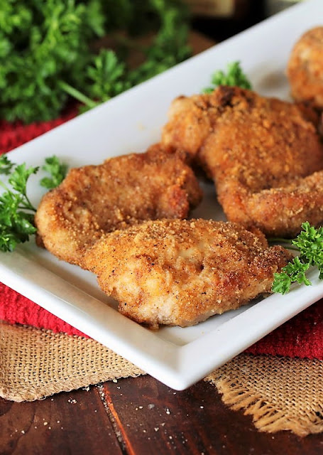 Homemade Shake & Bake Chicken Thighs Image