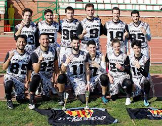 FLAG FOOTBALL - Barcelona Pagesos tetracampeones del Campeonato de Cataluña Open
