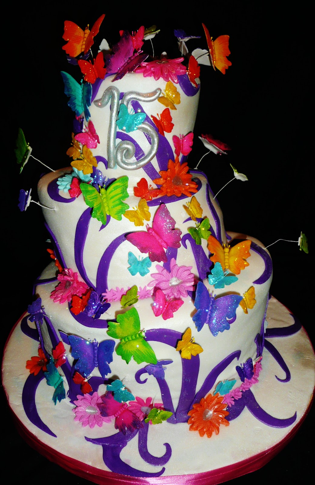 Baking with Roxana's Cakes: Butterfly themed Cake