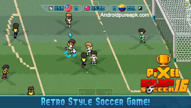 Pixel Cup Soccer 16 Apk download Full 2016