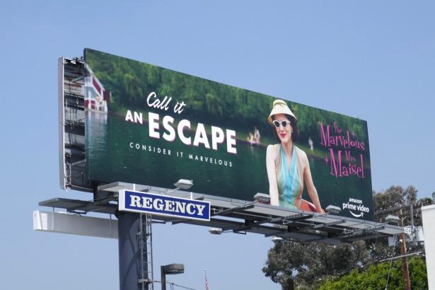 Marvelous Mrs Maisel season 2 Emmy FYC billboard