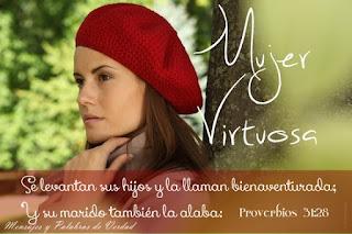 Resultado de imagen para mujer virtuosa