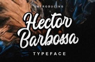 Font Hector Barbossa