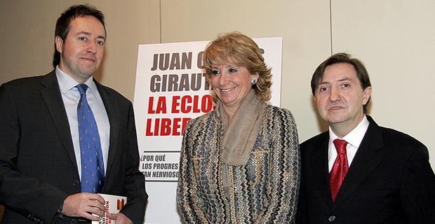 Con Ciudadanos ni a la vuelta de la esquina: Girauta apoya las tesis franquistas de Pío Moa