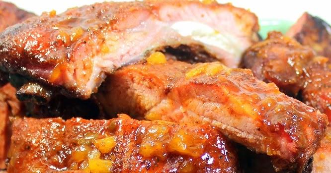 52 Ways to Cook: RIBS - Chunky Pineapple Glazed Jerk Dry ...