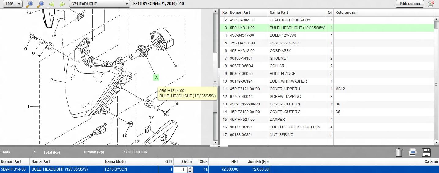 Blinkmemasang Relay Untuk Lampu Byson Fz Series Blink 12 Volt 8 Kaki