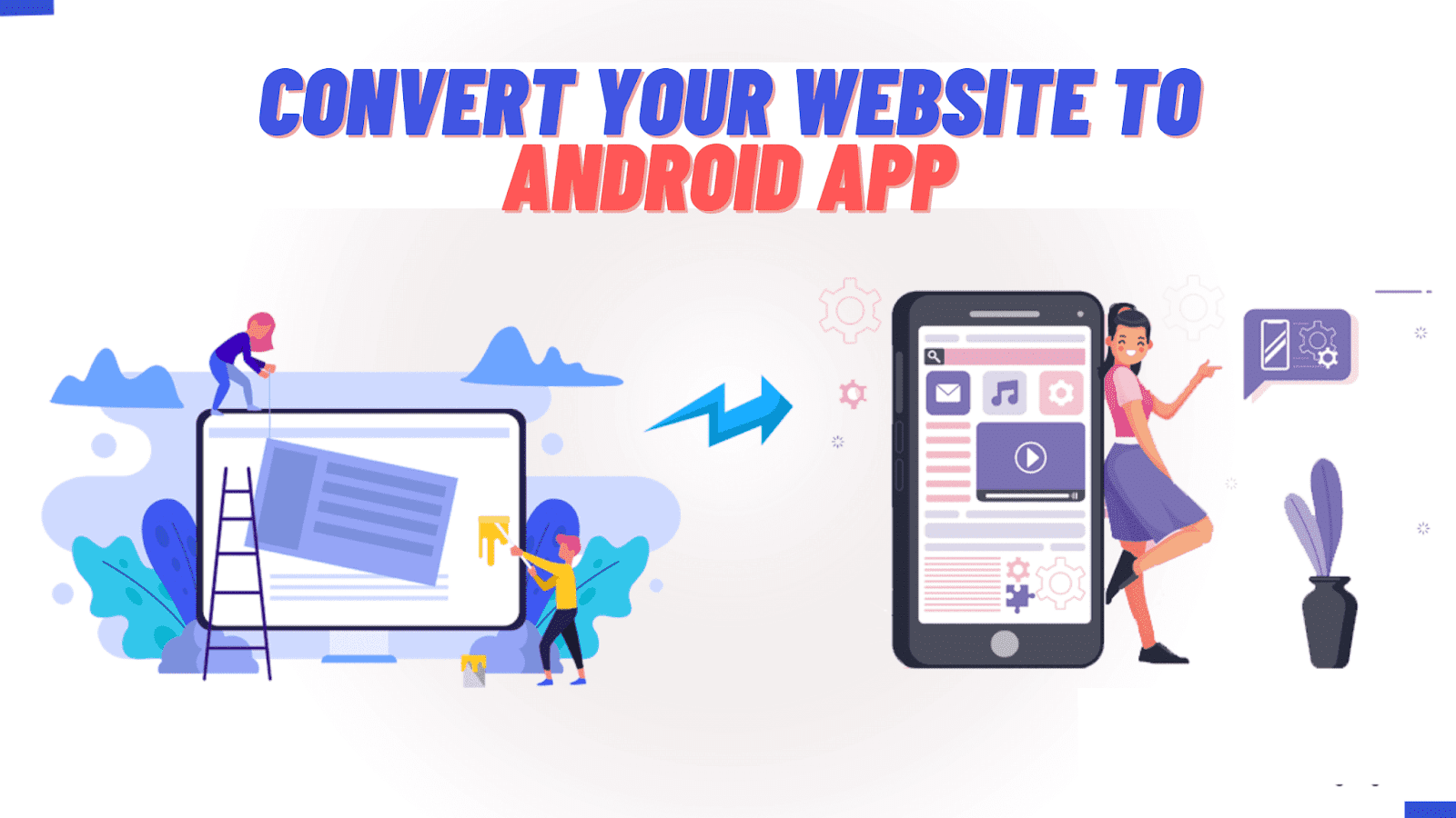 convert website to android app,