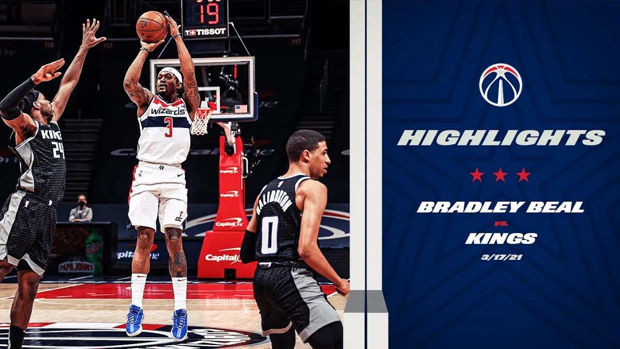 Bradley Beal 29pts 6reb 5ast vs SAC   March 17, 2021   2020-21 NBA Season