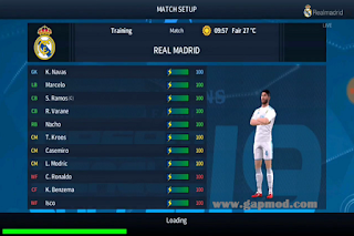 Dream League Soccer UCL 2018 Mod by DB 23 TEAM APK Download for Android
