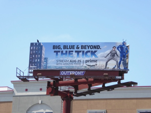 Tick Big blue beyond billboard