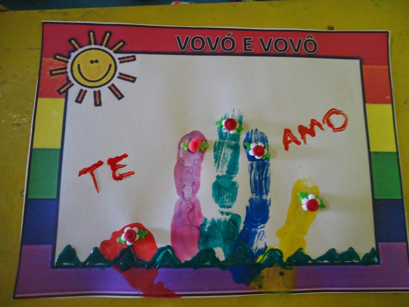 Vovô Na Web Mensagens De Superação 1: Educação Infantil: Oficina De ARTES:Vovó E Vovô
