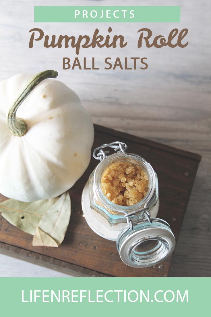 Make Pumpkin Roll Bath Salts