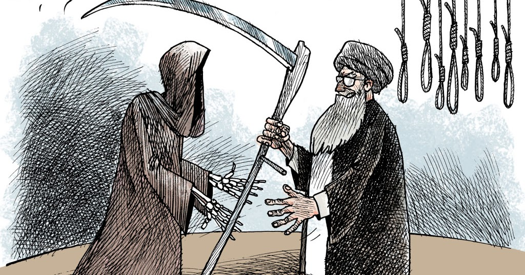 Iran mass executions immediately after election farce for Broadly farcical
