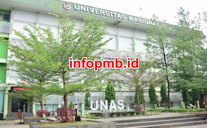 Jadwal Penerimaan Mahasiswa Baru (UNAS) Universitas Nasional