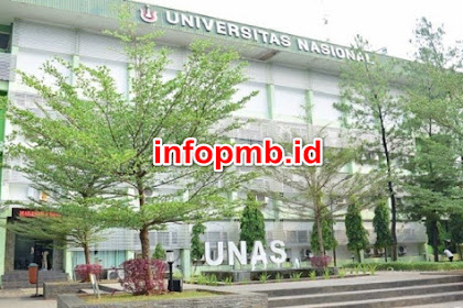 Informasi Pendaftaran Mahasiswa Baru (UNAS) 2020-2021