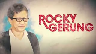 Rocky Gerung: Golkar Pantas Dimusuhi, Dia Sponsor UU Omnibus Law