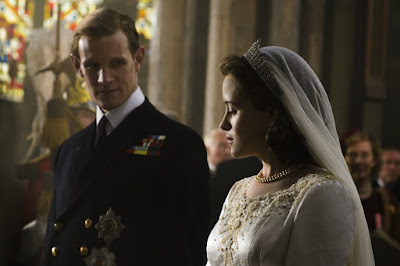 Image oF Claire Foy and Matt Smith in The Crown (11)