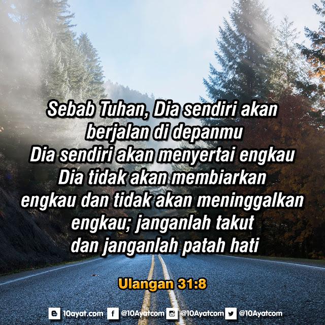 Ulangan 31:8
