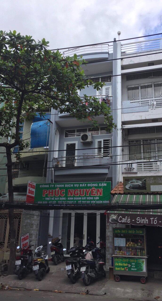 Bán nhà Mặt tiền đường Cầu Xéo quận Tân Phú. Dt 3,95x16,55m, 2 lầu sân thượng