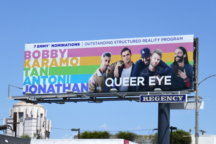 Queer Eye 2020 Emmy nominee billboard