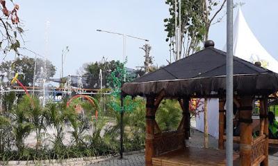 Saung Gazebo Wisata Blitar Park