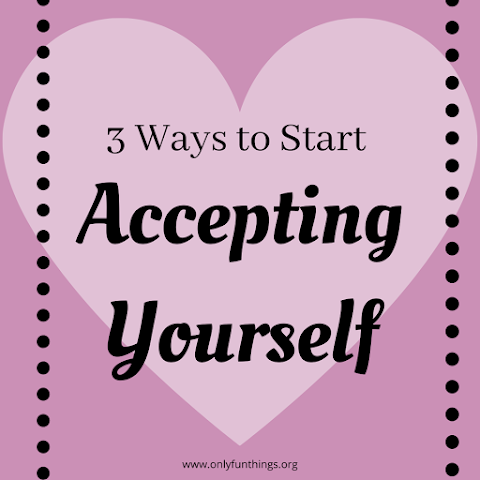 But I'm WEIRD! (3 Ways to Work on Accepting Yourself)