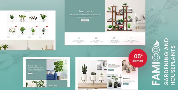 Best Gardening and Houseplants Shopify Theme