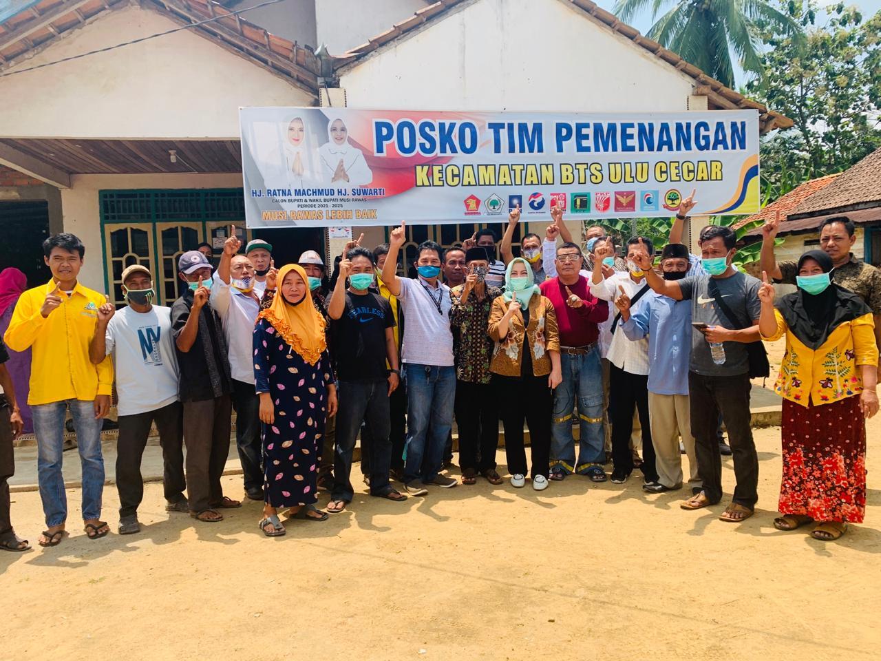 Tim Kecamatan Dan Desa Janji Ramah Berati Menang di BTS Ulu Cecar