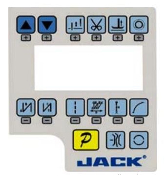 Bảng điện tử máy Jack