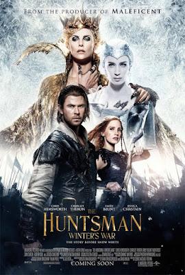 łowca i królowa lodu film recenzja chris hemsworth charlize theron emily blunt jessica chastain