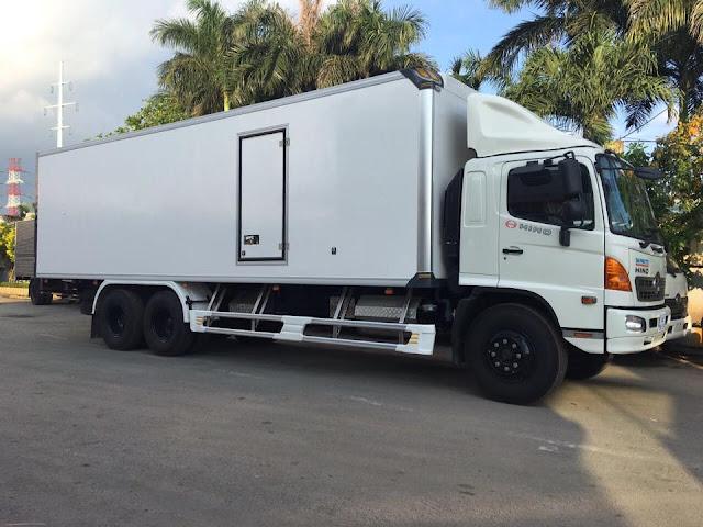 Giá mui lướt gió xe tải đông lạnh 15 tấn