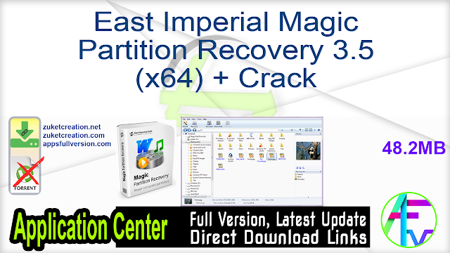 East Imperial Magic Partition Recovery 3.5 (x64) + Crack