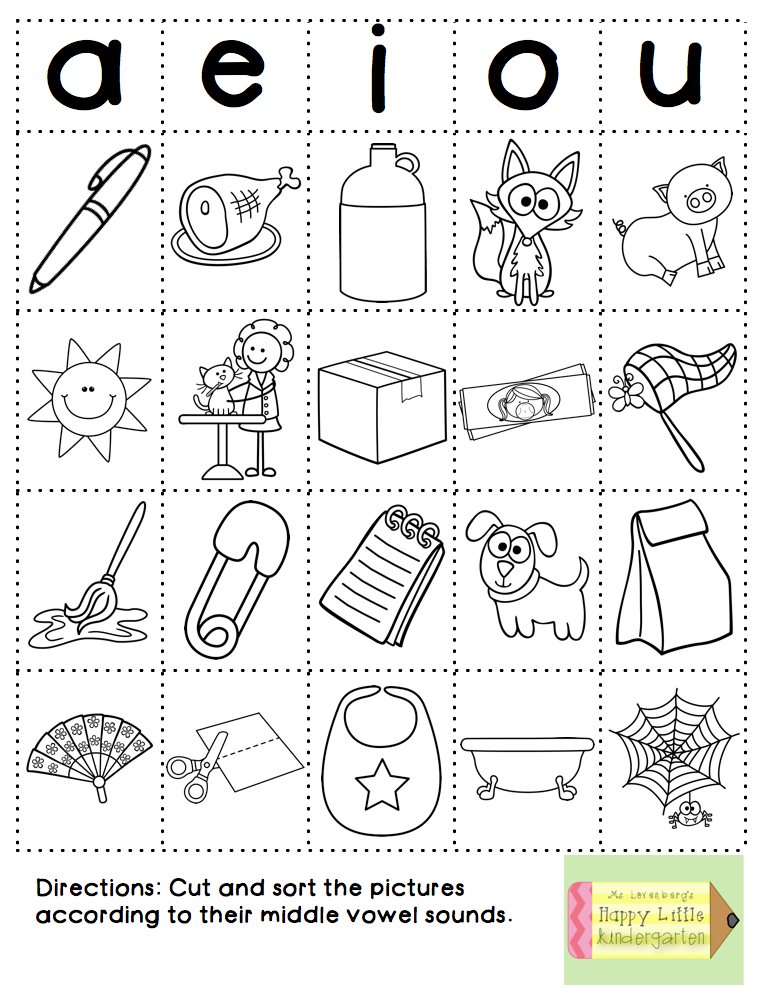 Happy Little Kindergarten: Fun with Phonics: Word Work Style!