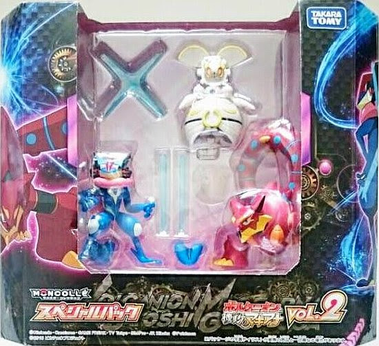 Magearna figure super size Takara Tomy Monster Collection MONCOLLE Valcanion & Magearna Special Pack Vol 2