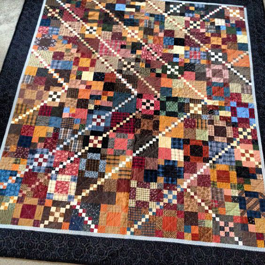 Trail Mix Quilt Free Pattern