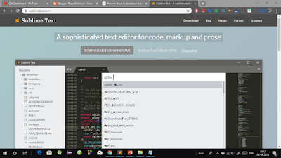 How to Download and Install Sublime Text Editor 3