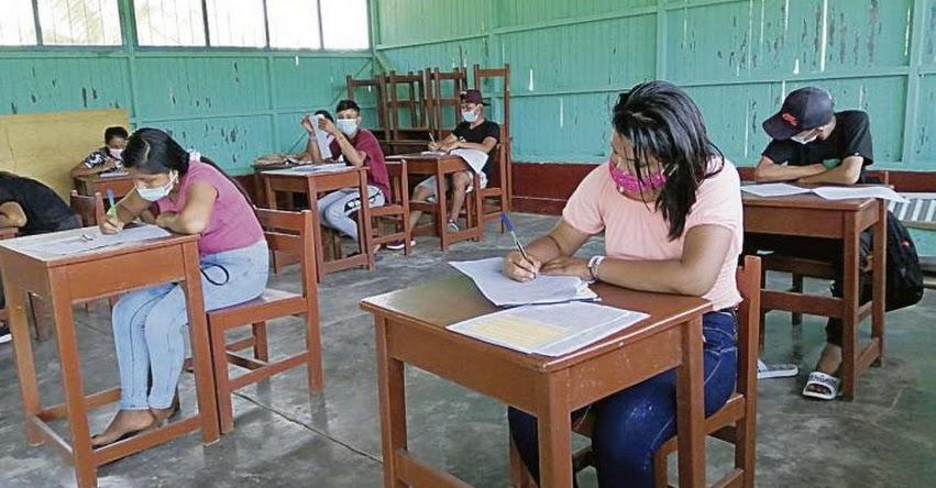 Nuestro objetivo es volver a clases sin sobrepasar los límites de la pandemia, sostuvo el Ministro de Educación, Ricardo Cuenca