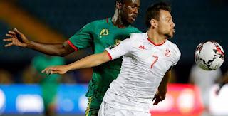 مباراة تونس وغانا اليوم في أمم أفريقيا 2019