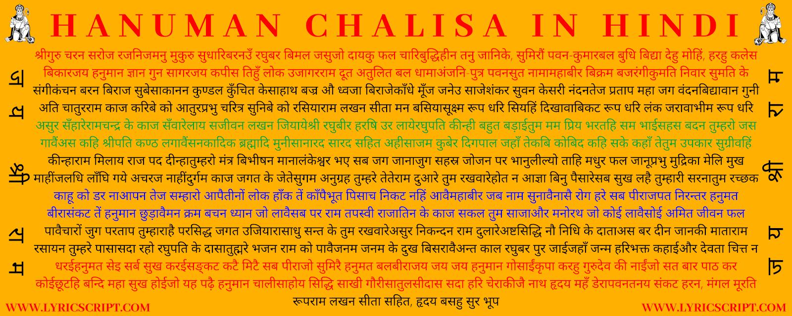 hanuman chalisa hindi hd photo download