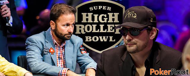 Daniel Negreanu Phil HellmuthSuper High Roller Bowl 2017