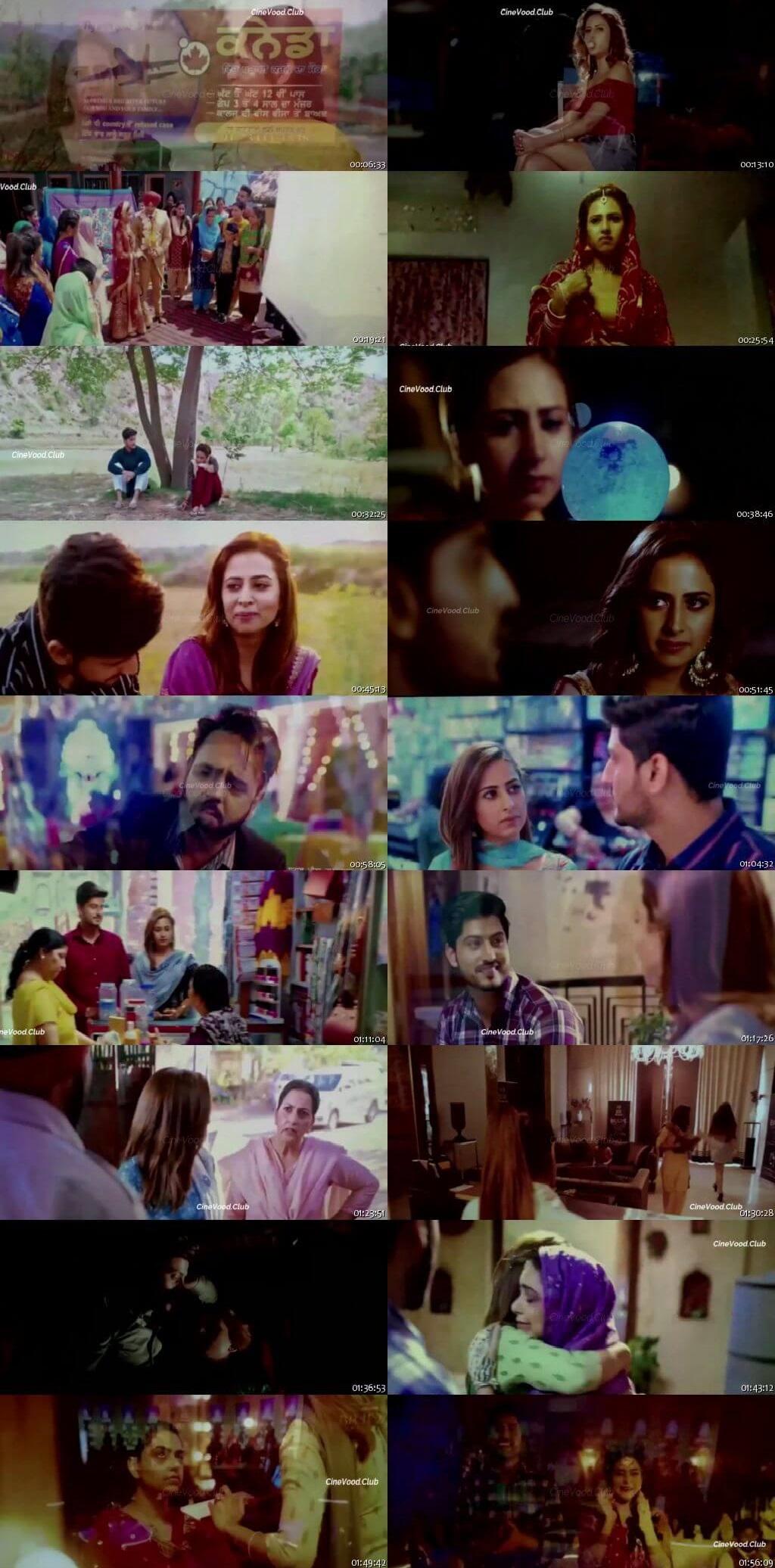 Screen Shot Of Surkhi Bindi 2019 300MB PdvdRip 480P Full Punjabi Movie Watch Online Free Download