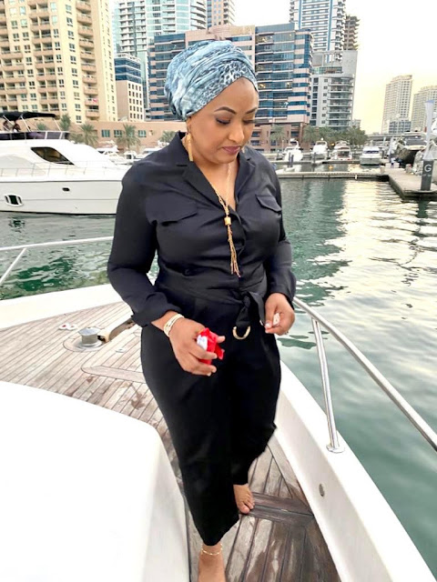Exposed! How Yahaya Bello's Wife Burnt Several Thousands Of Dollars In Dubai