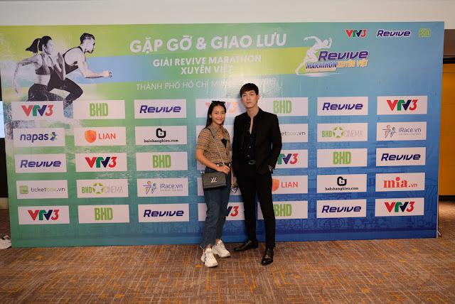 Hàng loạt sao đến tham dự sự kiện Revive Marathon Xuyên Việt 21