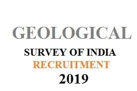 Geological-Survey-of-India-Recruitment-2019