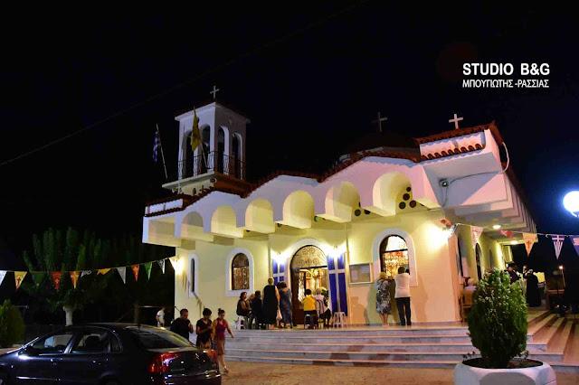 Πανηγυρίζει ο Ιερός Ναός Αγίου Νεκταρίου στις Εργατικές Κατοικίες Ναυπλίου (βίντεο)