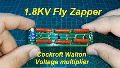 Cockroft Walton voltage multiplier / Bug Zapper