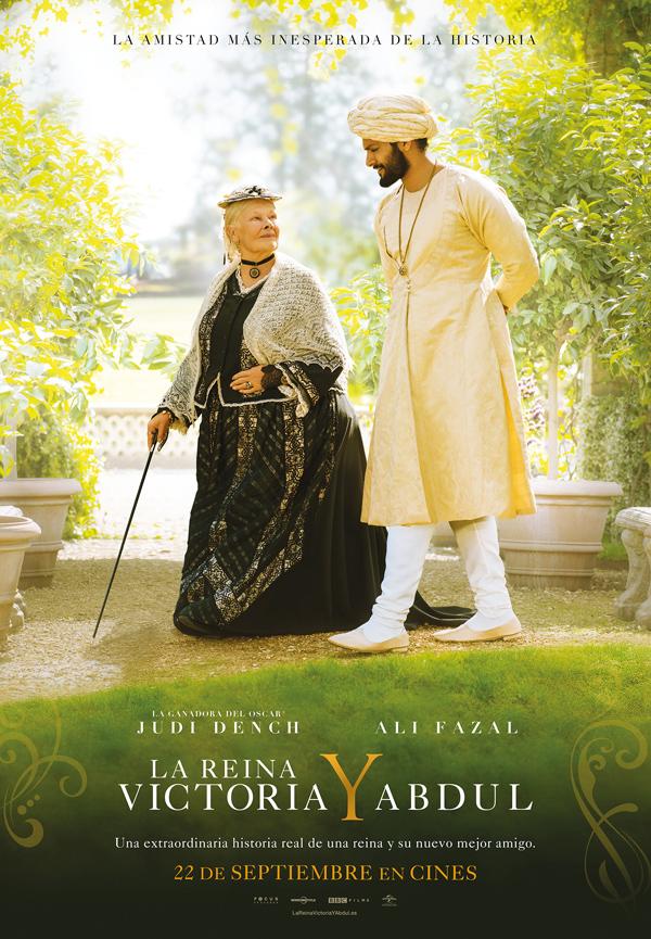Cartel de La Reina Victoria y Abdul