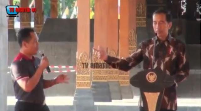 Jokowi Tanya Nama-nama Ikan, Warga Sebut Kecebong