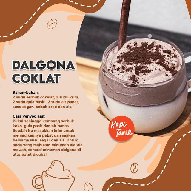 Dalgona Coklat